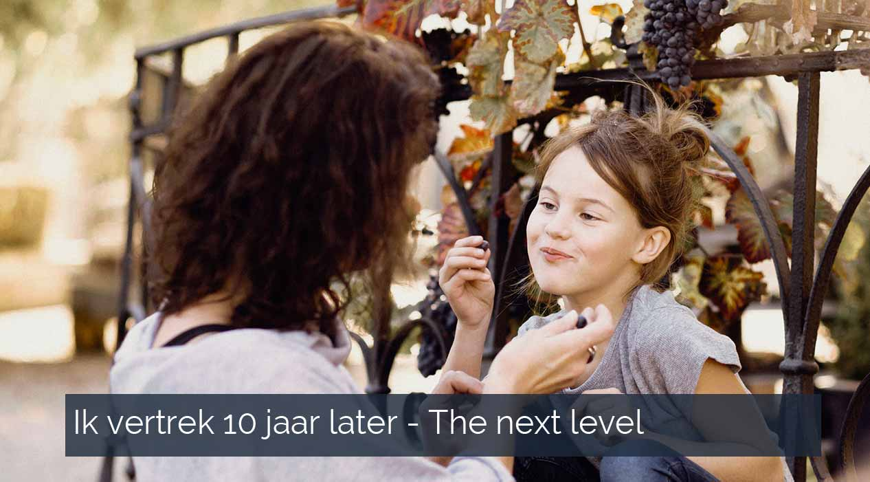 Ik vertrek 10 jaar later the next level