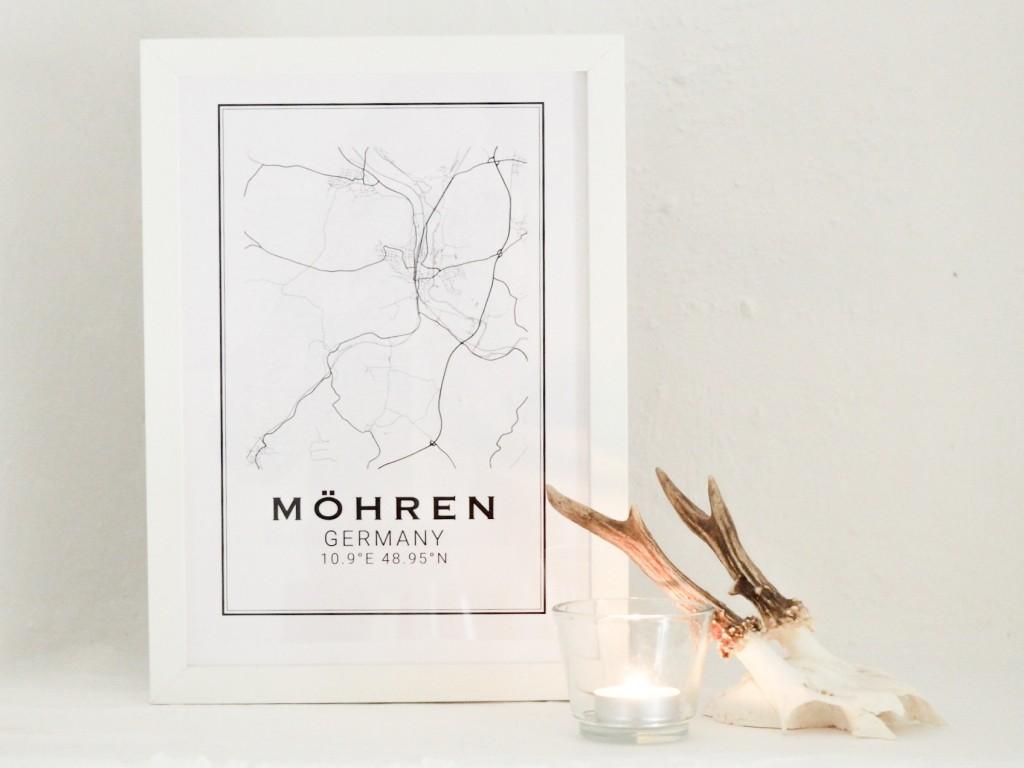 Printable map Moehren