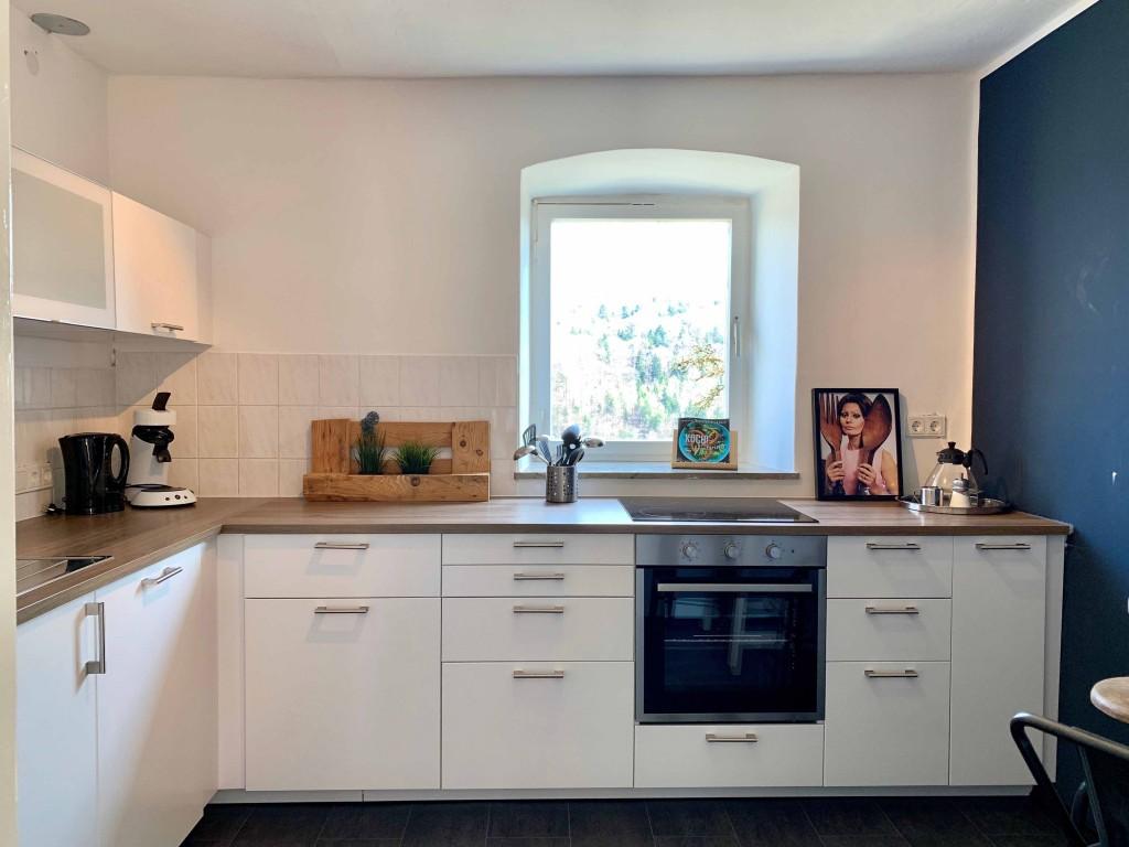 Nieuwe keuken 6 pers vakantiehuis
