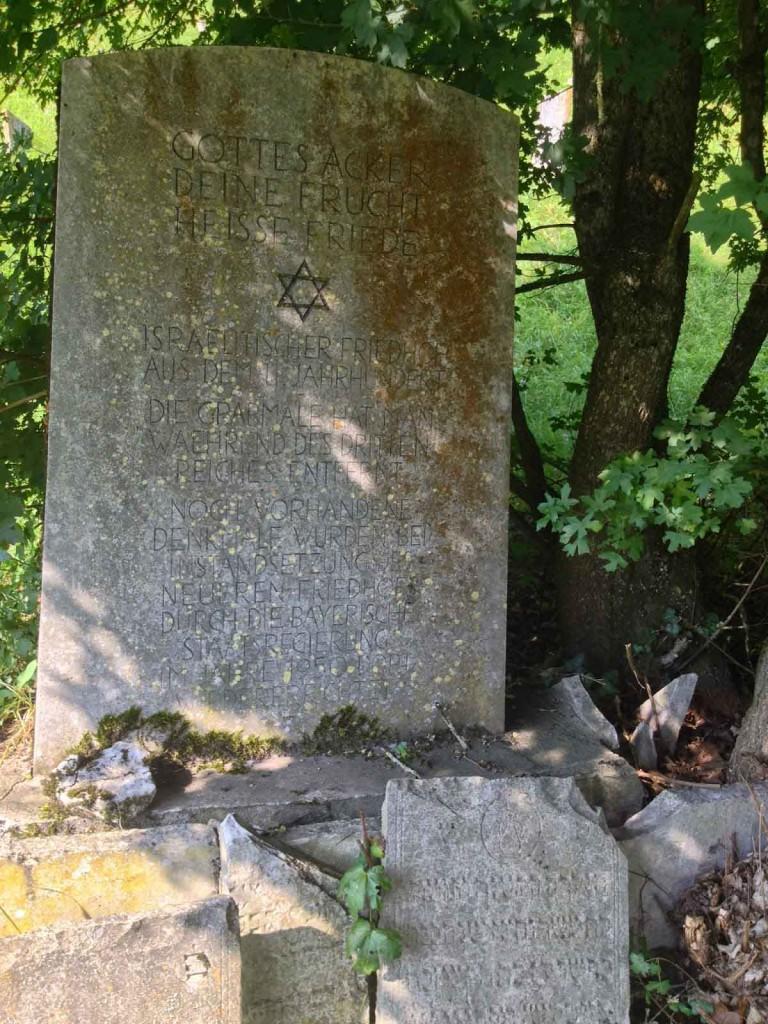 Oudste Joodse kerkhof Duitsland