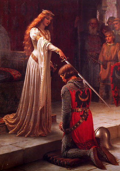 ridderslag vroeger