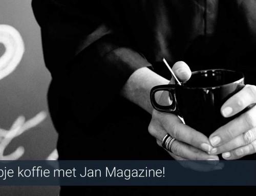 Kopje koffie met Jan Magazine