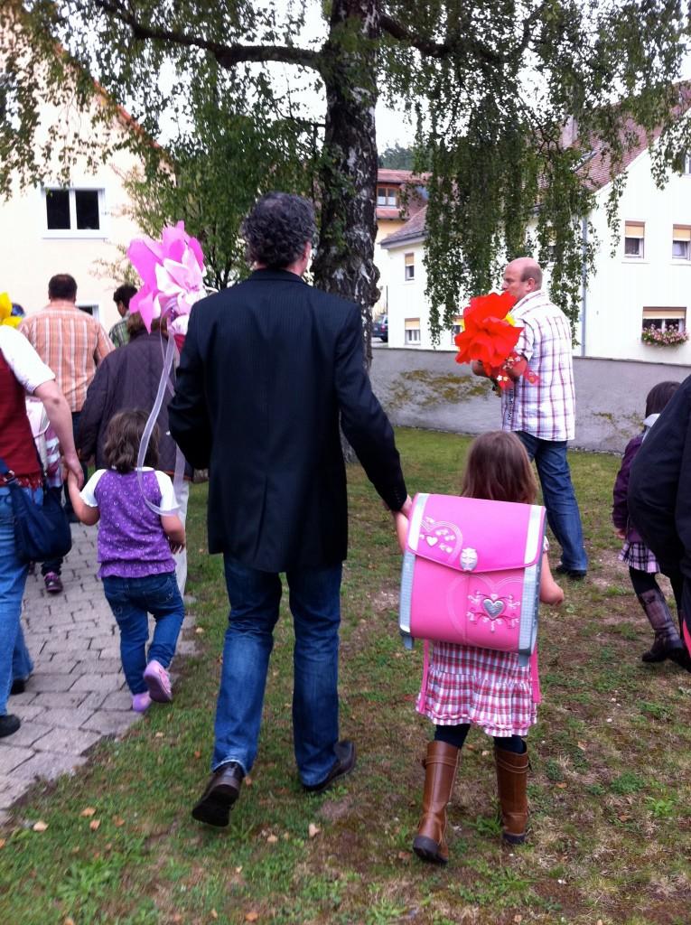 1e schooldag basisschool Duitsland