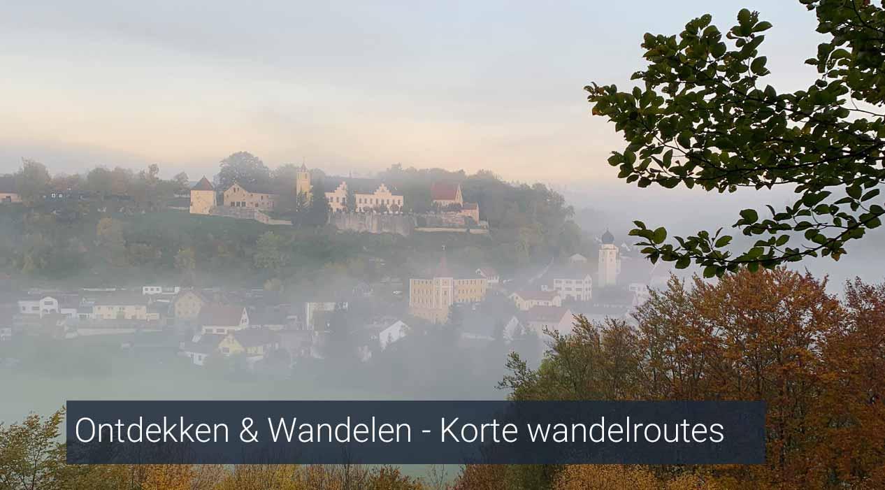 Ontdekken & Wandelen - Korte wandelroutes Beieren