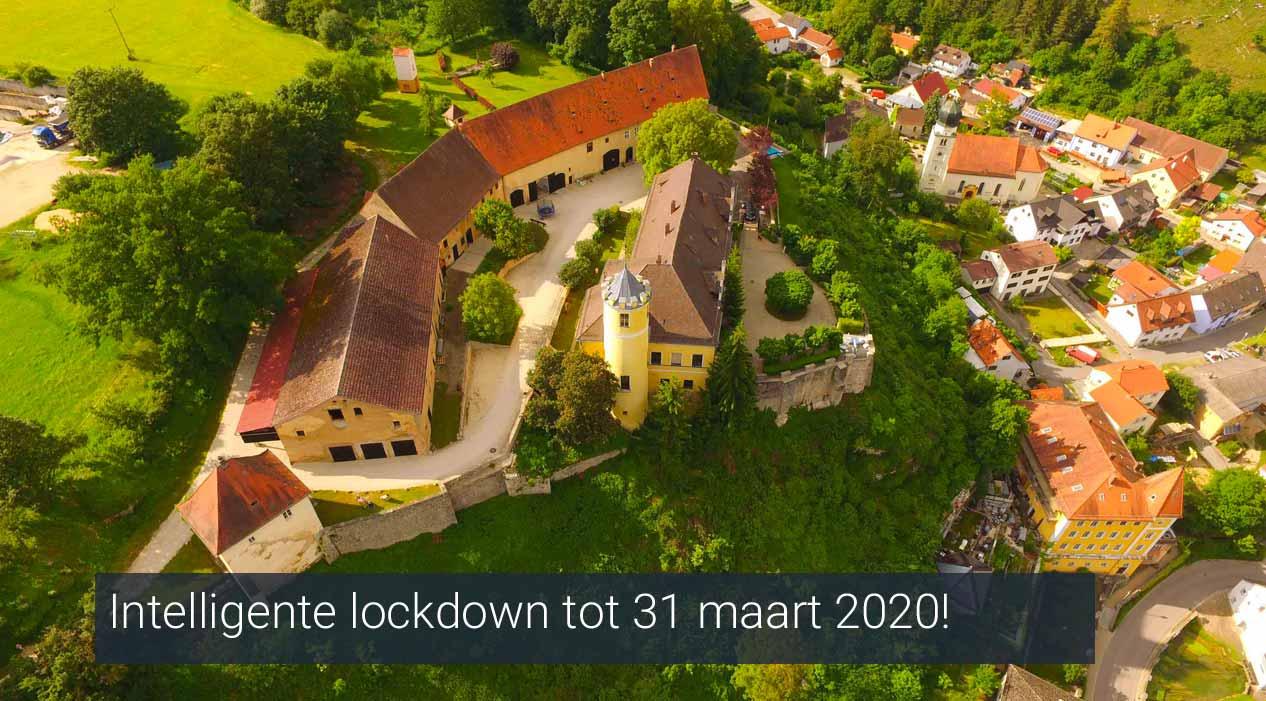 Lockdown vakantielocatie tot 31 maart 2020
