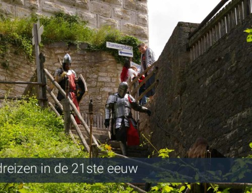 Tijdreizen in de 21ste eeuw vanuit je vakantiehuis in het kasteel