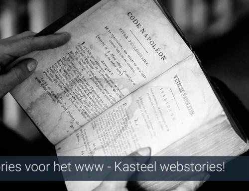 Kasteel & Vakantiehuis webstory