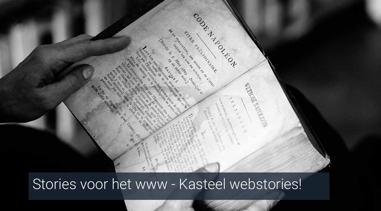 Kasteel webstories
