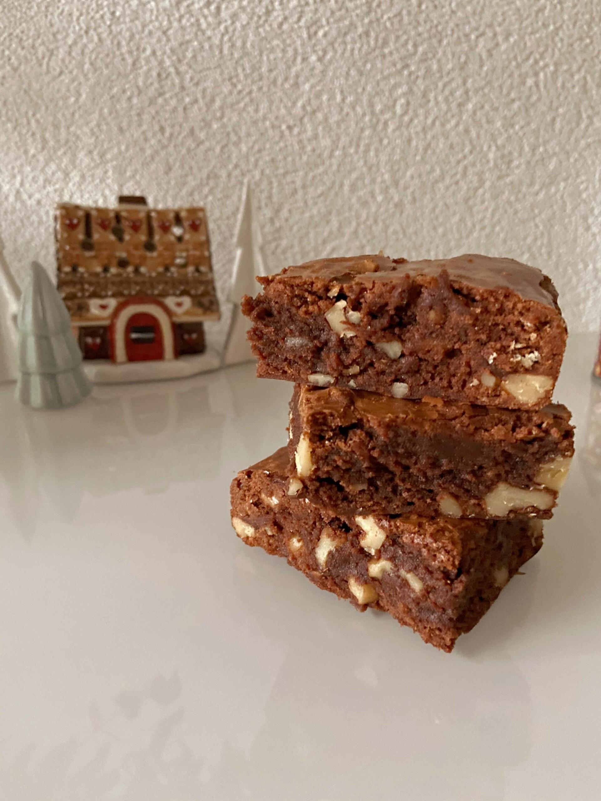 Lebkuchen brownie recept
