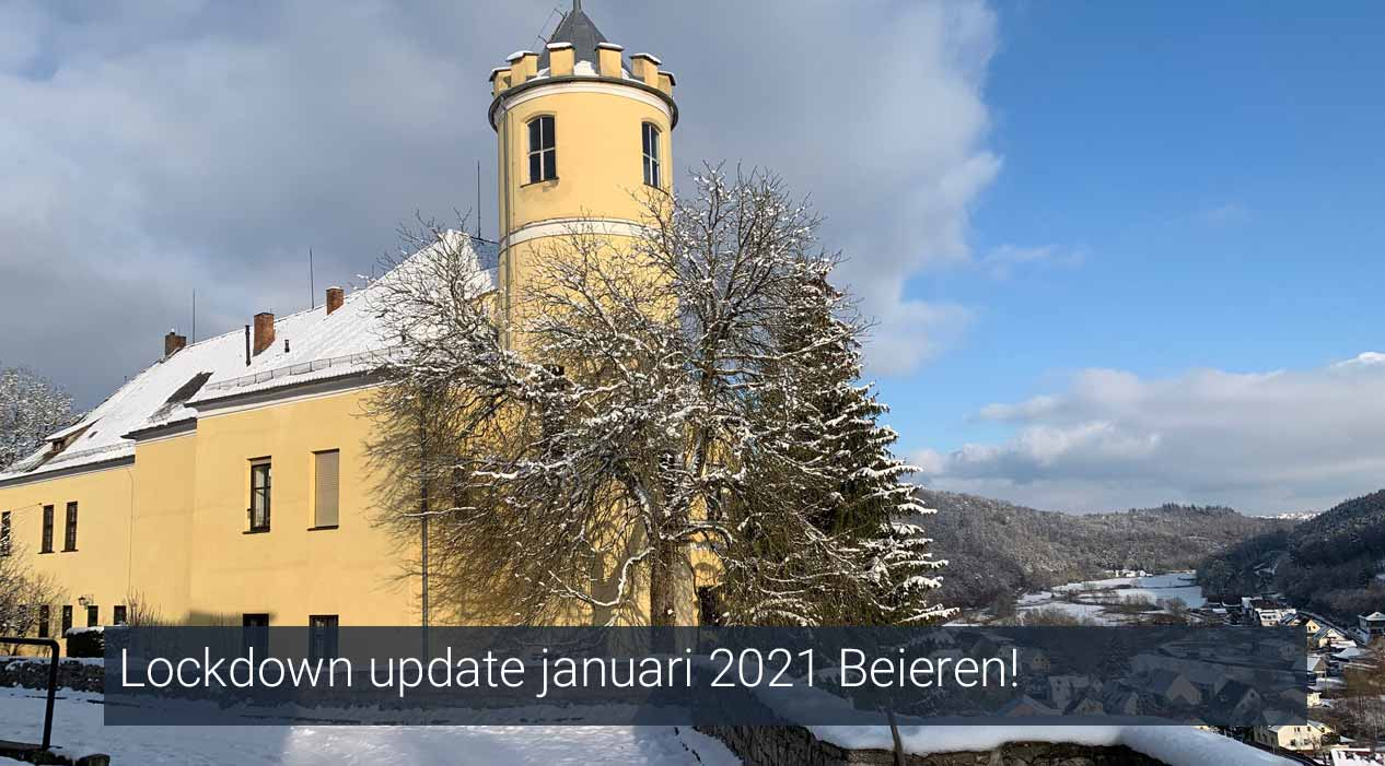 Lockdown update januari 2021 Beieren