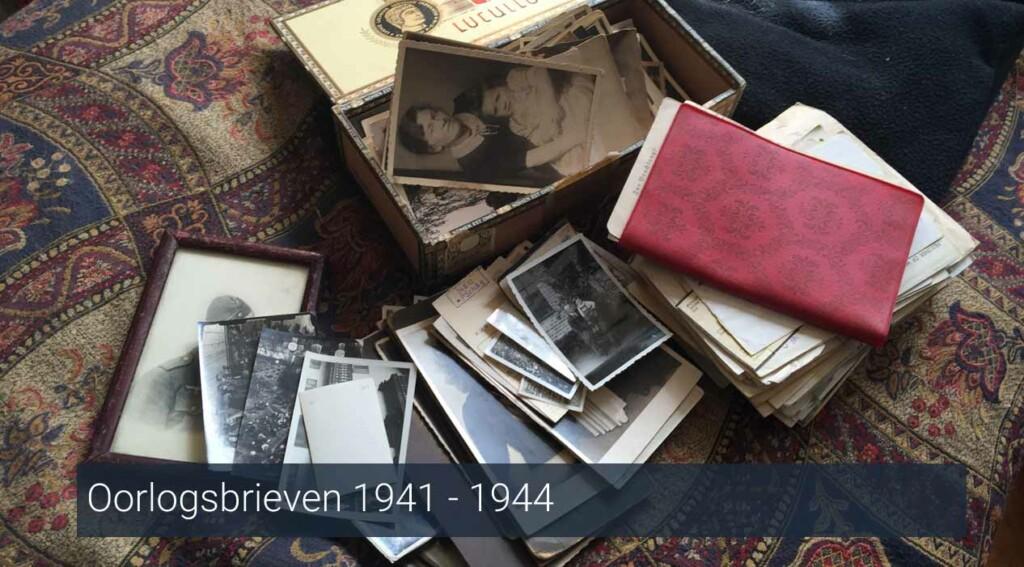 Oorlogsbrieven 1941 - 1944
