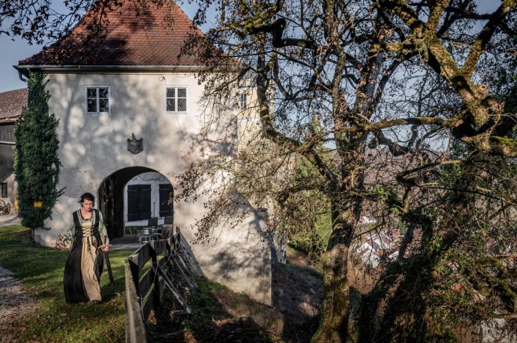 Kasteelvrouwe en Schloss