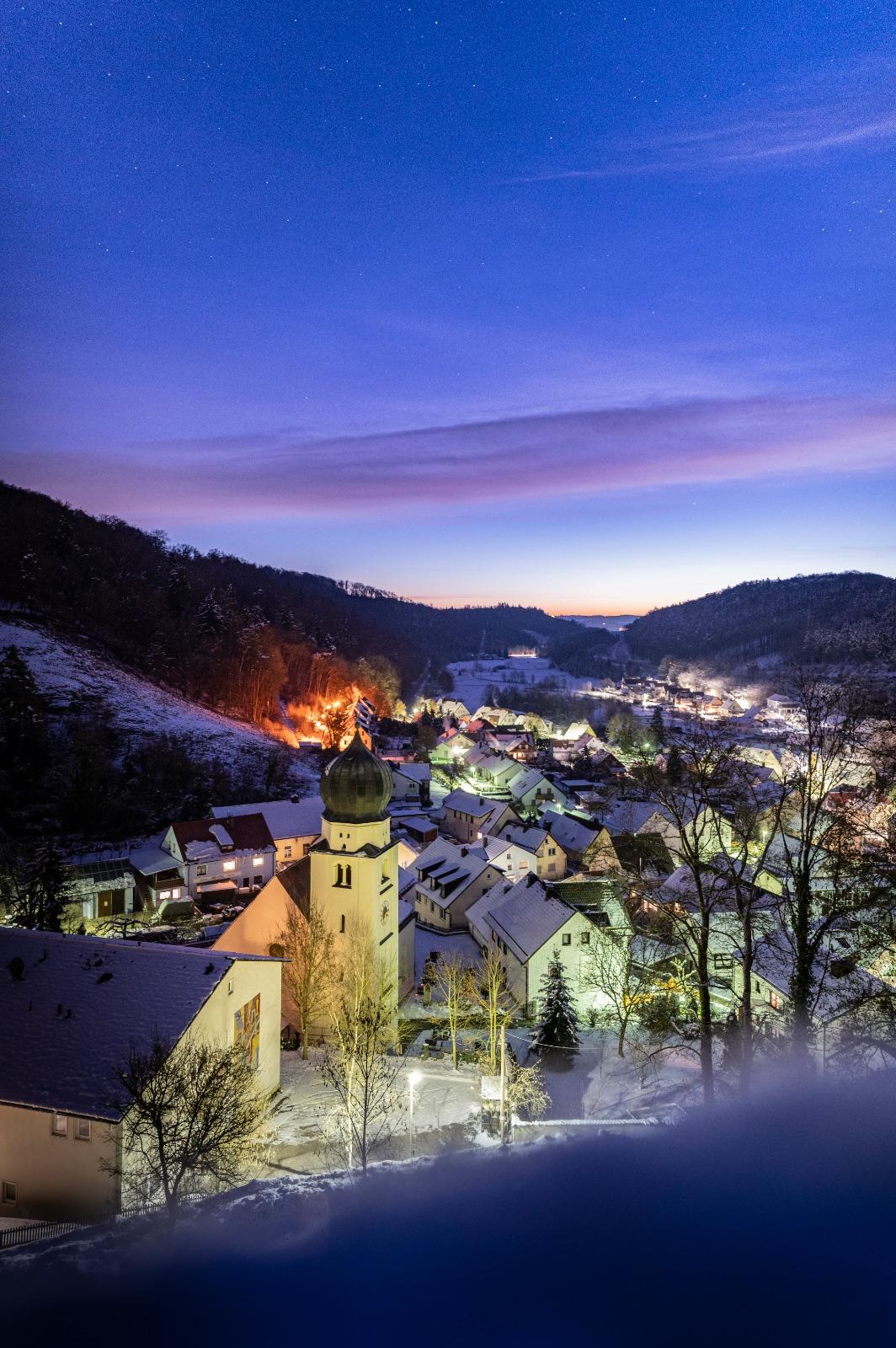 Winter in Möhren Treuchtlingen