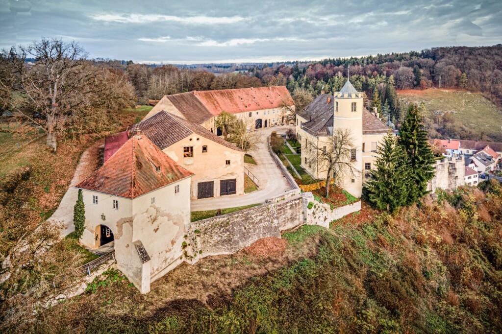 Logeren in een kasteel in Duitsland