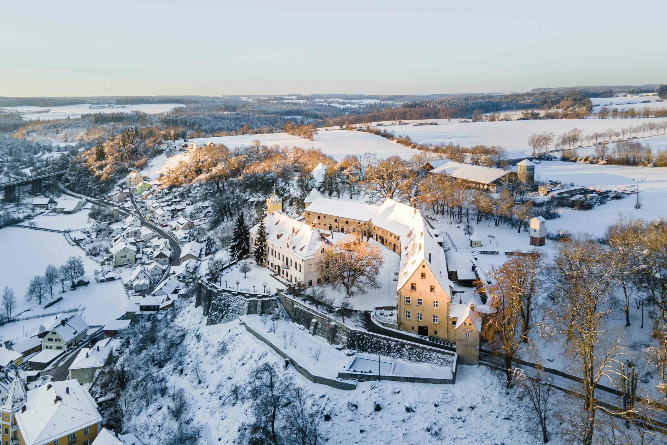 Winter kasteel