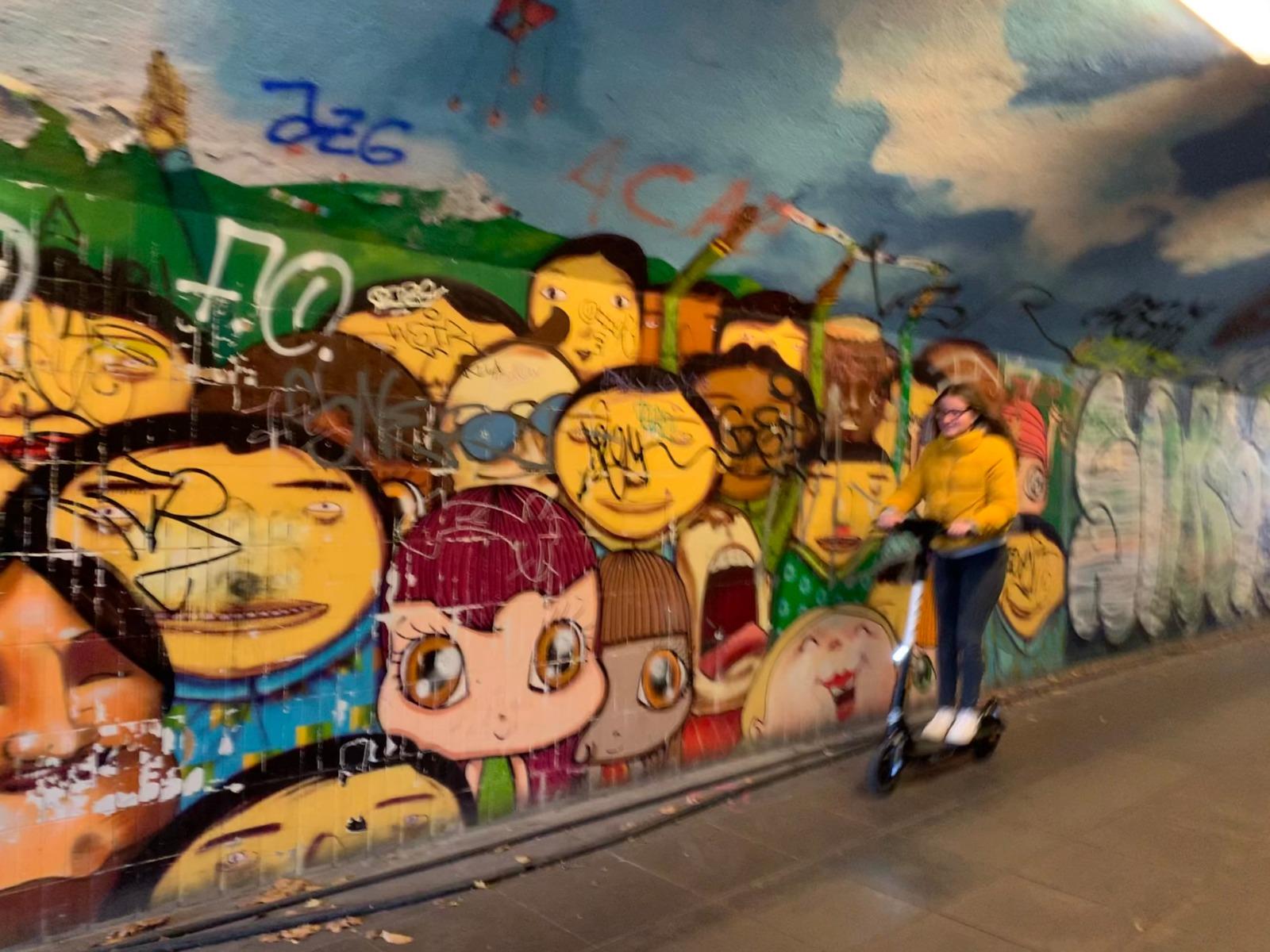 Graffiti tour München voor PassePartout Beieren reisgids
