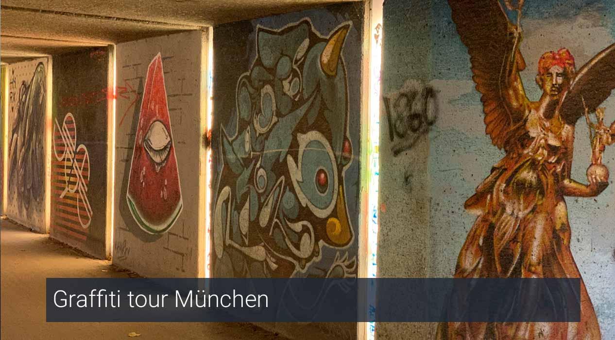 Graffiti tour München PassePartout Beieren reisgids