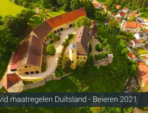 Corona / Covid maatregelen Duitsland Beieren 2021