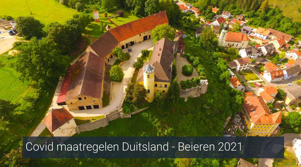 covid maatregelen Duitsland 2021