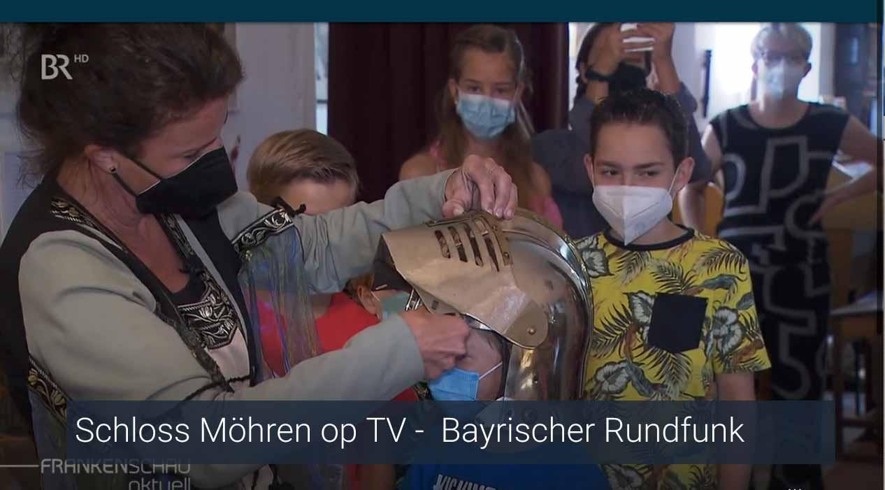 Schloss Moehren op TV Bayrischer Rundfunk